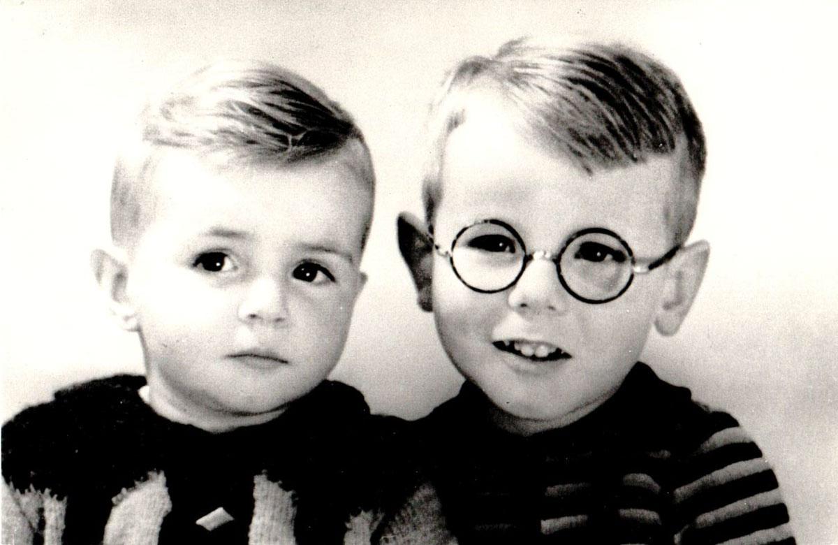 Louis en Rob van Dijk